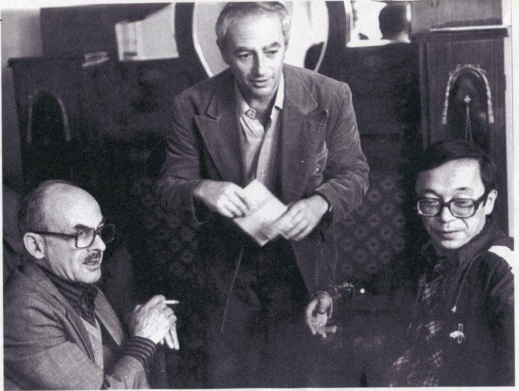 Булат Окуджава, Александр Городницкий и Юлий Ким, Москва, 1986 год