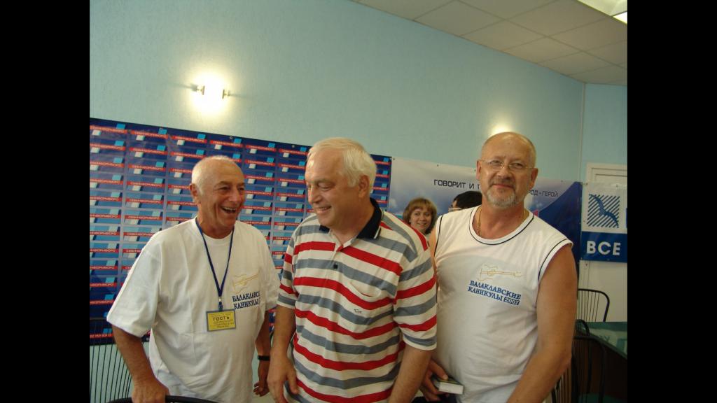 С Сергеем Никитиным и Андреем Соболевым